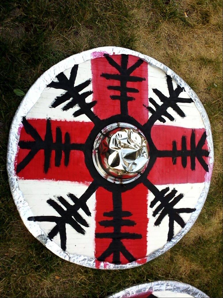 Viking Shield #1 by Corruptedcross