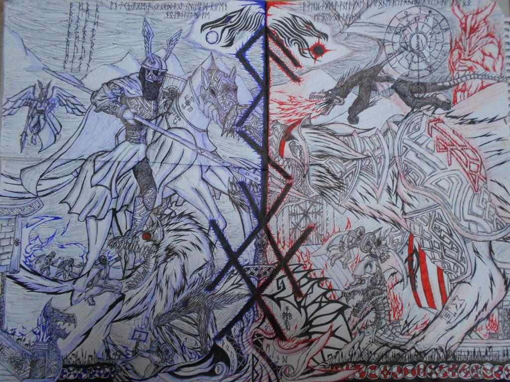 Ragnarok by Corruptedcross