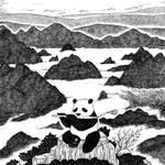 Panda musician