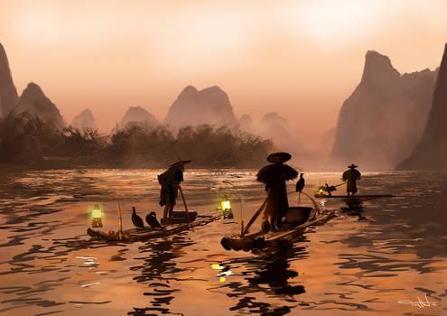 Guangzhou Fishing Fleet