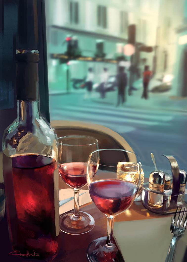 Vino Rossa by tonyhurst