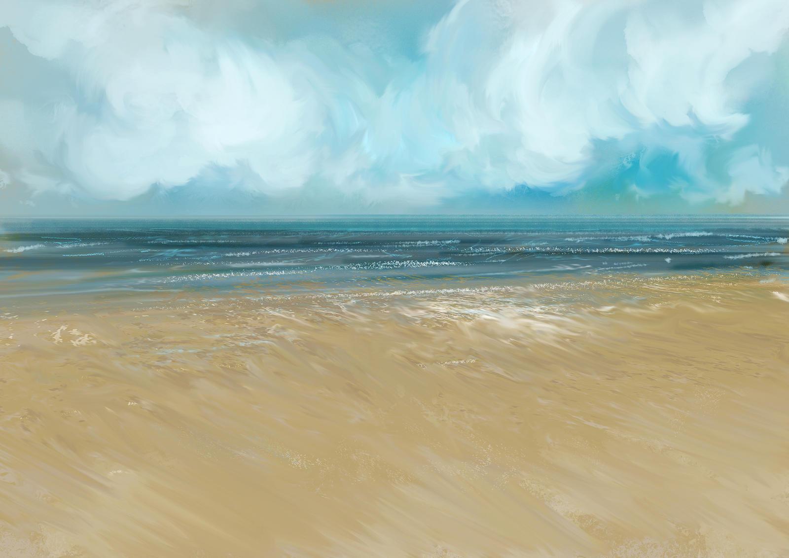 Beach study by tonyhurst