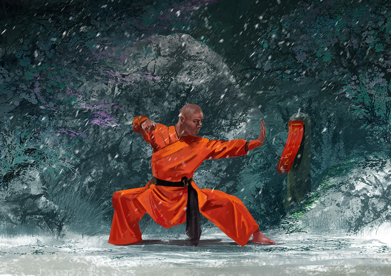 Shaolin w by tonyhurst