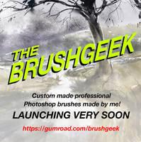 Brushgeek brushes on gumroad! by tonyhurst
