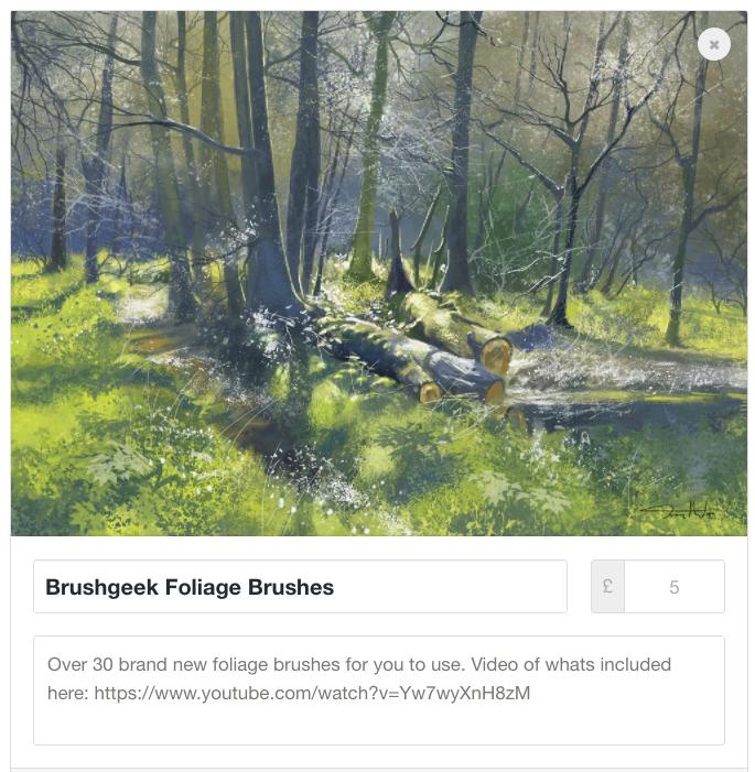 Foliage Brushes - over 30 brand new brushes!! by tonyhurst