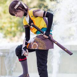 cosplay code lyoko ulrich by ritsuka-fisi