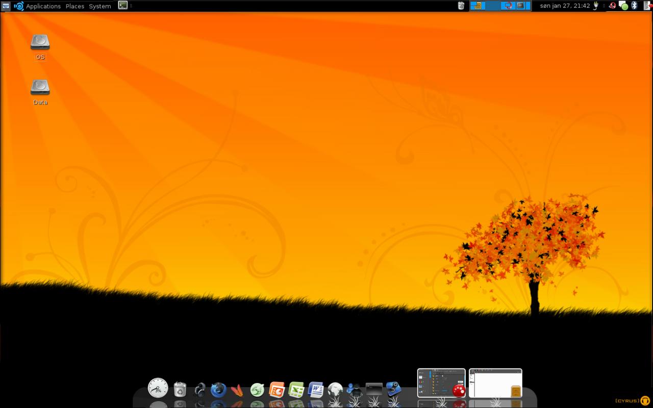 Ubuntu 7.10 v1.0 by luskeent