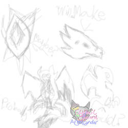 Crafting Sketch Idea ( would buy or no?) by AngelCnderDream14