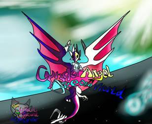 CynderAngel DreamWorld Galaxy wallpaper by AngelCnderDream14