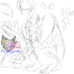 Cnder Midnight Sketch OLD by AngelCnderDream14