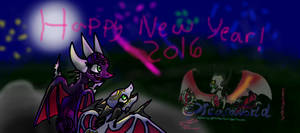Happy New Year from AngelCynder