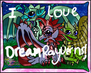 Dream Rayvern Stamp FOR FANS! =D by AngelCnderDream14