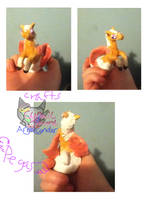 Pegasus model hand made by AngelCnderDream14