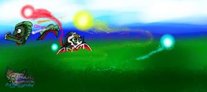 Dream World wasps artwork by AngelCnderDream14