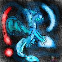 DreamEpic my new logo for my company and character by AngelCnderDream14