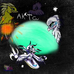 Ak'ta Comic book by AngelCnderDream14