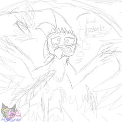 Ak'ta the fall Sketch by AngelCnderDream14