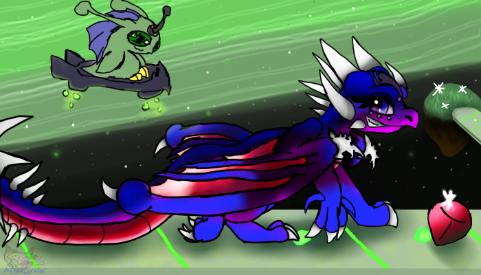 Cnder Midnight Galaxy level by AngelCnderDream14