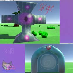 Skye N Portal Game Developement by AngelCnderDream14