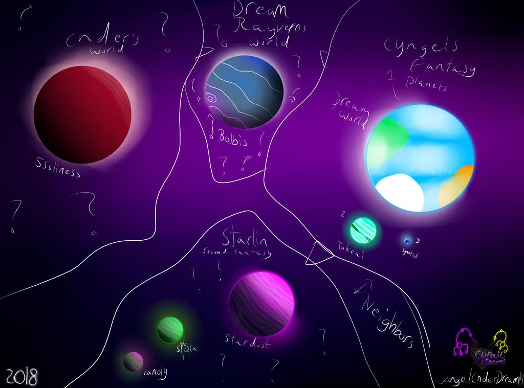Cyngel's Worlds by AngelCnderDream14