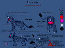 Runnmen Cnders world creatures #1Update