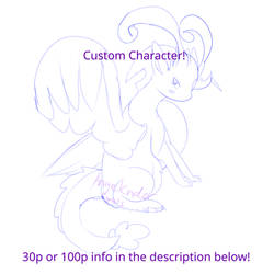 Custom character POINTS! OPEN!