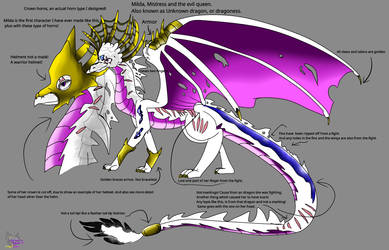 Milda Unknown dragonness The Evil Queen