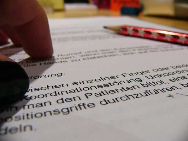 studying..