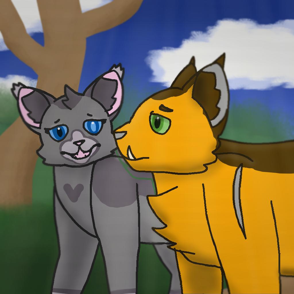 Warrior Cats OCS: Quickstrike and Lionleap/star
