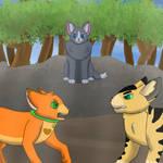 Warrior Cats: Rusty VS Longtail