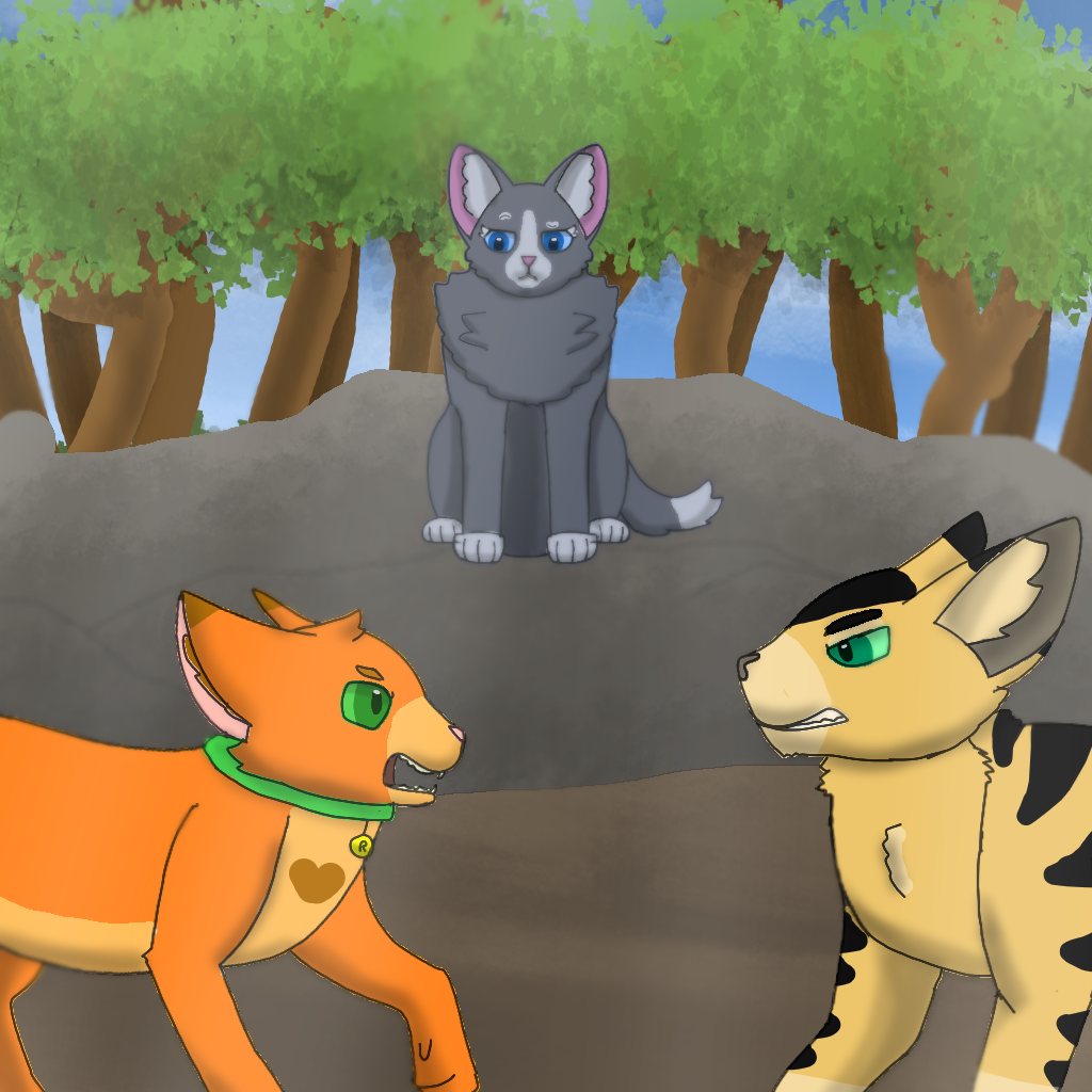 Warrior Cats: Rusty VS Longtail