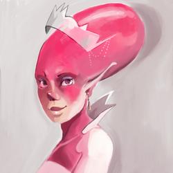 Lady bubble by CaroWaro