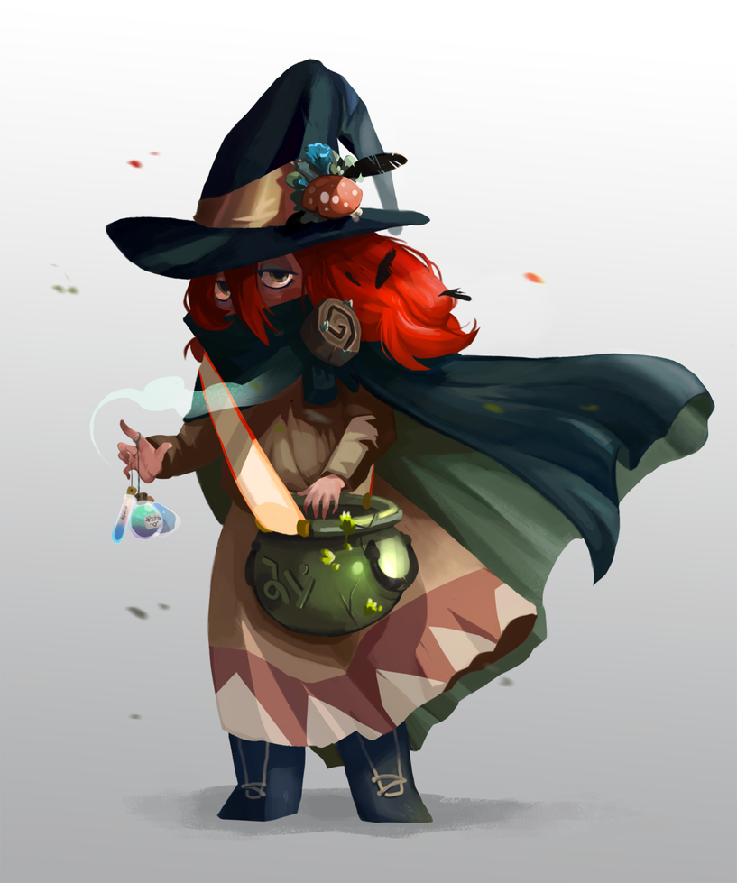 Yerba Buena Witch by Algosky