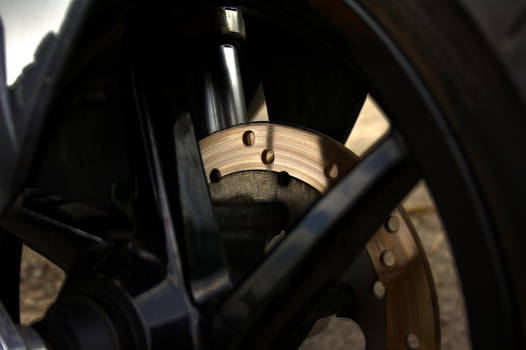 hot brake discs.