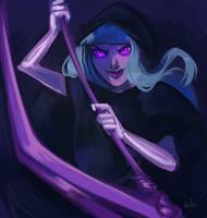 grim reaper by Reineke-Fox