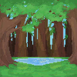 Trees ~ Background Practice