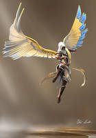 A God named Bayek by DragonsDravite