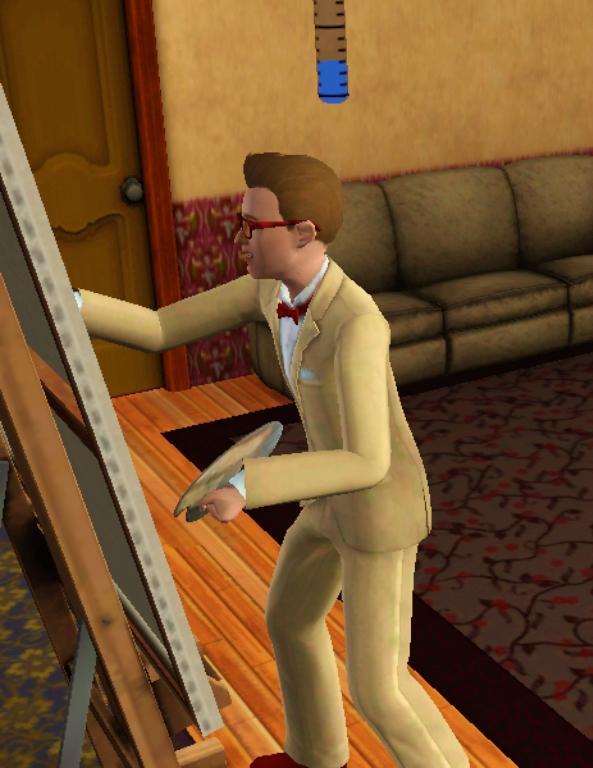 PL Sims 3 - Simon Reinhold by kenabe