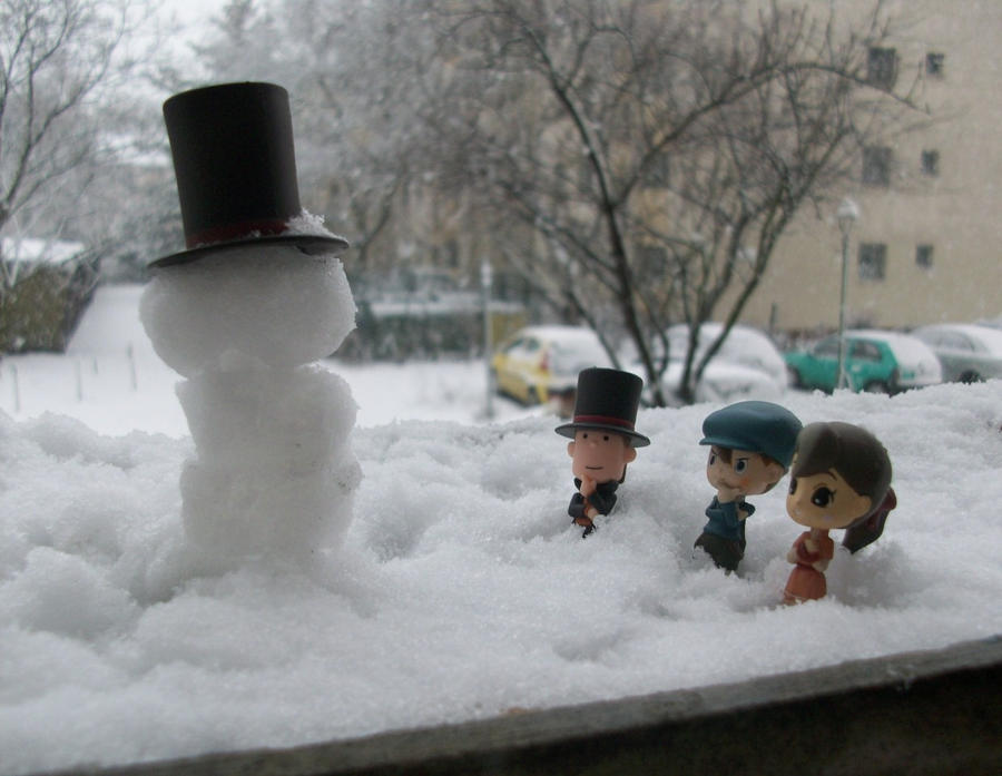 Professah, we built a snowman by kenabe