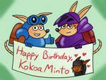 Happy Birthday, KokoaMinto