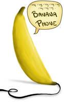 BANANA PHONE by KatrinaBonebrake