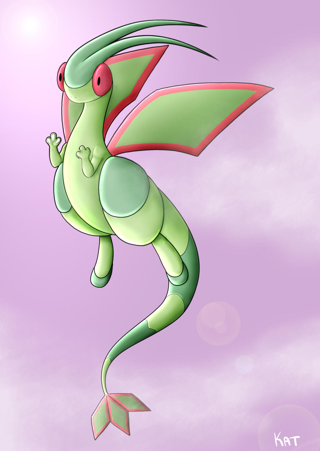 Flygon by KatrinaBonebrake on DeviantArt