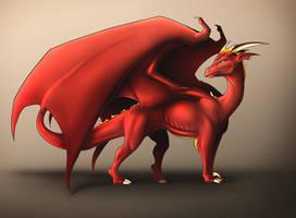 Fire Dragon by KatrinaBonebrake