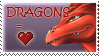 Dragon Lover stamp