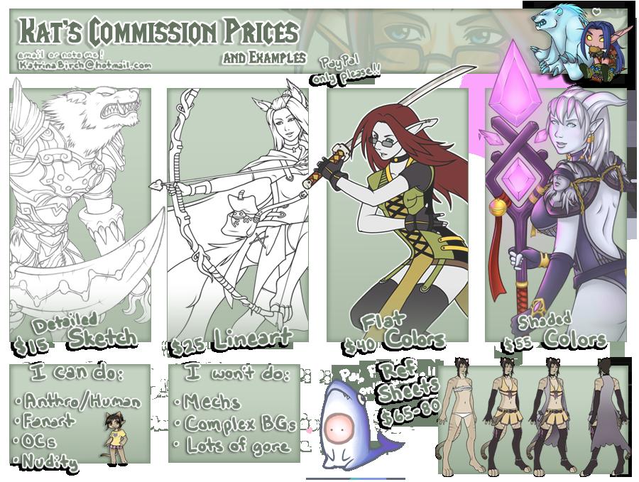Commission Info by KatrinaBonebrake