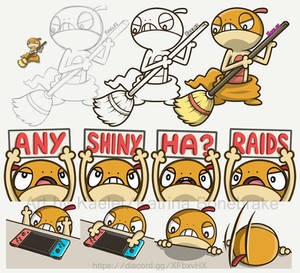 Angry Scraggy Emotes