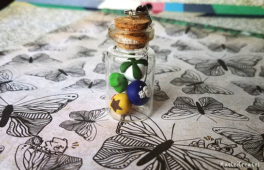 Tiny Animal Crossing Item Jar