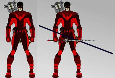Neros Urameshi as Nightwing