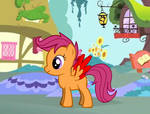 Blessed Scootaloo (open wings)