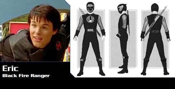 Eric McKnight the Black Ninja Storm Ranger by DisneyBrony2012